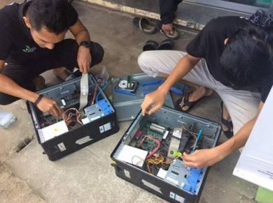 Servis dan Cuci Habuk PC/Laptop/Projector/Printer