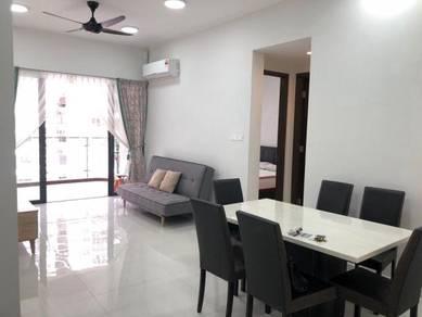Country garden 2bed furnish / danga bay / johor bahru / low rental