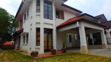 2 storey SEMI D Corner ALAM SUTERA Bukit Jalil Surau [Good Condition]