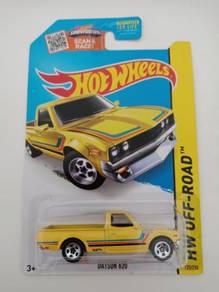 Hotwheels Datsun 620 Yellow K-Mart Exclusive