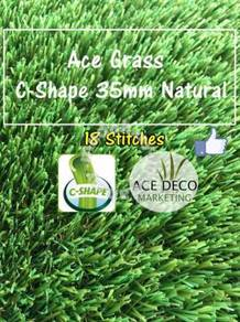 C35mm Natural Artificial Grass Rumput Tiruan 04
