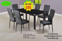 1+6 Dining set top glass (M-DT-445) 22/6