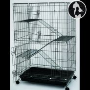 Cat Cage (Medium) Sangkar Kucing 3 TGK