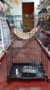 New Cat Cage - Sangkar Kucing BARU 2 Tingkat