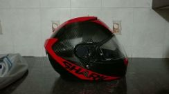 Helmet shark spartan carbon full face