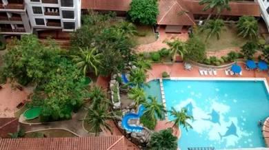 Renovated Unit Apartment Mahkota Melaka Raya Town Area Highfloor