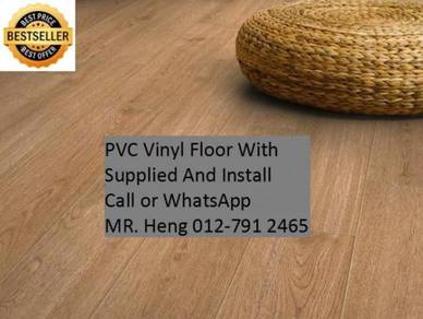 Wood Look PVC 3MM Vinyl Floor 5g3g