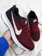 Zoom black maroon