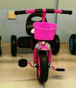 Kids music trcycyle pink