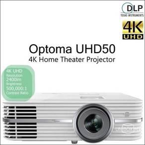 Optoma UHD50 DLP 4K Ultra HD Home Cinema Projector