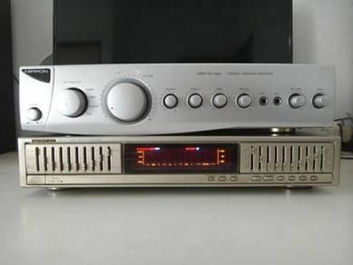 Nippon 5 channel amp n equalizer