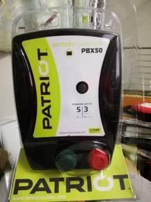 5KM Electric Fence Energizer - Patriot PBX50