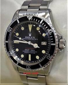 Rolex 1680 Submariner Red Sub Full Set