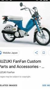 Suzuki motor fan fan