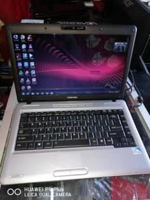 Laptop Budget Toshiba L510 Intel core2duo