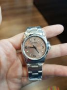 Rolex Oyster Perpetual Pink Dial 31mm