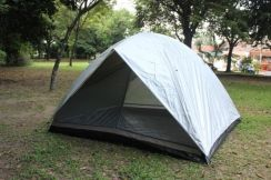 Camping tent 1503_8 person silver