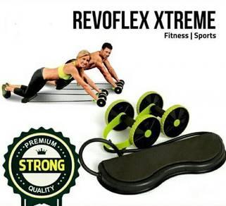 Revoflex Xtreme Fitness Exercise Rope Roller (55)