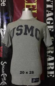 Vintage T Shirt USMC ( Rayon )