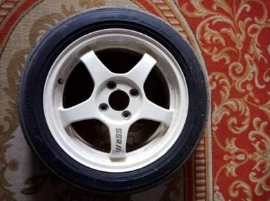 Rim 15' SSR Ori, Disk Brake depan belakang Kelisa