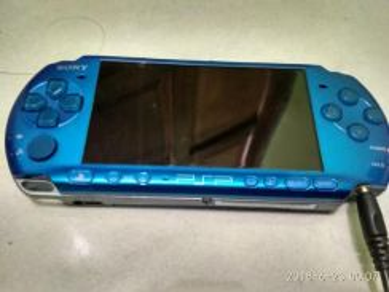 Psp 3100 blue edition