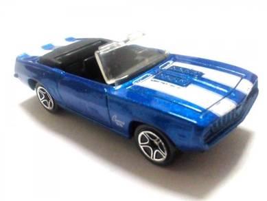 1997 Matchbox 1968 CAMARO SS 396 metallic blue