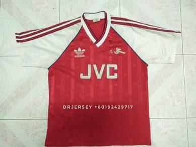 Arsenal vintage jersey kit 86/88