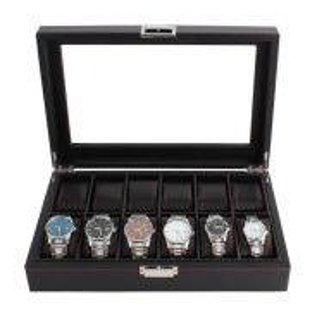 Watch box 12 slots carbon fiber 07