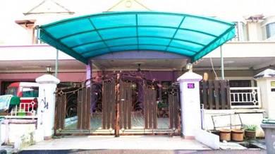 FULLY RENO 20 x 70 FREEHOLD Taman Perdana College Heights, Mantin