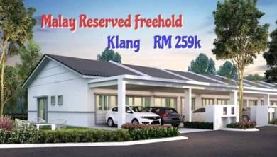 Klang Single Storey 0% down payment
