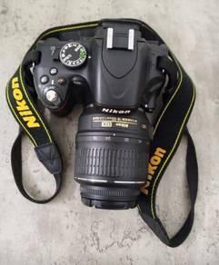 Nikon d5100 (secondhand)