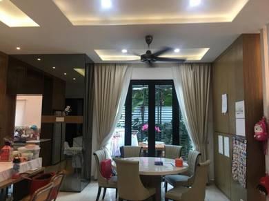 2Sty Cluster End lot, Grey Stone,Adda Heights, Johor Bahru