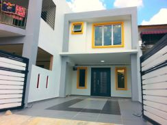 100% LOAN, FREE LEGAL FEE, MAX RENO 2 Sty Terrace House, Taman Berlian