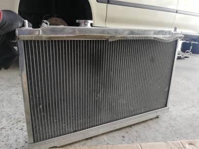 Honda b18c Mugen Blox radiator AEM regulator