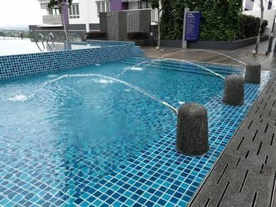 Kajang Saville Servive Apartment ,Near Jalan Reko ,UKM,MRT,Town Cheap