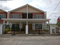 End Lot 2sty House 22x87 4room+3bath Permatang Badak Perdana