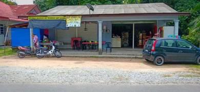 Lot Kedai di kampung Tetambah manir