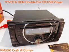 TOYOTA OEM Double Din CD USb Player
