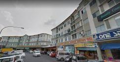 Four Stories Shop House at Stutong for Sale