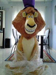 Alex-Original Madagascar 5 feet toy