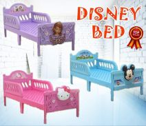Kids single disney bed frame 6d.6by-22s