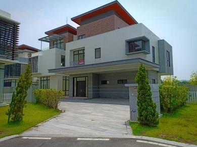 BELOW MV 3 storey modern bungalow Long Branch Bukit Kemuning
