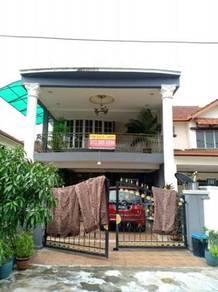ENDLOT & FULLY RENO   2 Sty House Taman Cheras Prima near Aeon Cheras