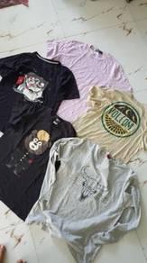 Combo tshirt brand size m L