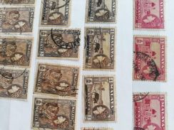 Old classic stamps C. O. D