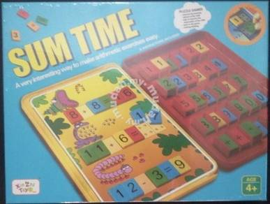 Sum Time School time (Math Game)