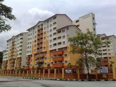 Serdang Villa Apartment Bukit Serdang 850sqft RENOVATED 100% Full Loan