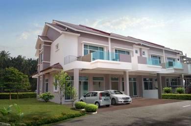 New Double Storey Terrace At Taman Pasir Indah, Sg Dua