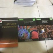 A- Level AS Maths textbooks