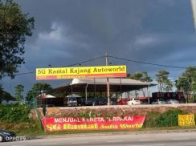Kajang Autoworld Lot For Rent